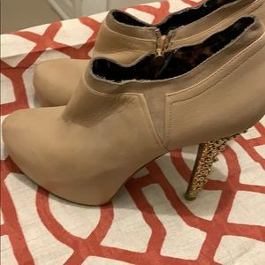 Booties by Betsey Johnson
